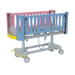 2-Section-Paediatric-Bed-With-Electrically-